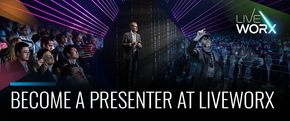 Become a LiveWorx Presenter